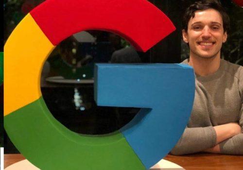 Ex-alunos destaque: Daniel trabalha no Google