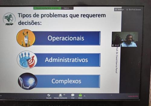 FECAP realiza palestras virtuais para colaboradores da empresa Voith