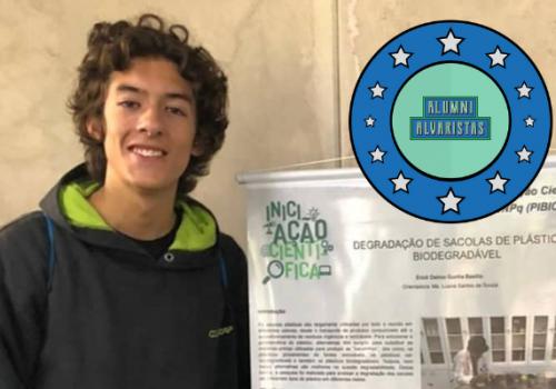 Alumni Alvarista: ex-aluno do Colégio FECAP é aprovado na USP