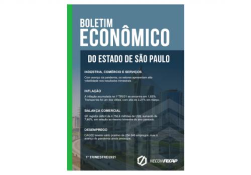 Confira a nova edição do Boletim Econômico do Estado de São Paulo