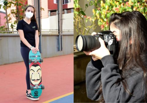 Colégio FECAP oferece atividades de skate e fotografia