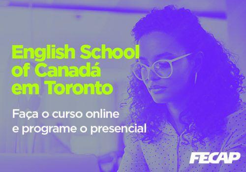 Inscrições para curso online de inglês em escola canadense vão até 1/10